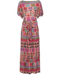 Missoni - Multicolour Silk Dress - Lyst