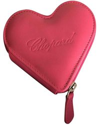 Chopard Leather Purse - Pink