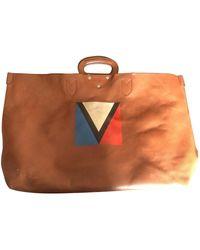 Louis Vuitton Leather Bag - Brown