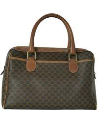 Celine Leinen Handtaschen - Mehrfarbig