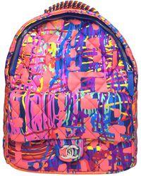 Chanel - Graffiti Cloth Backpack - Lyst