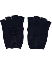 Chanel - Pre-owned Cashmere Mittens - Lyst