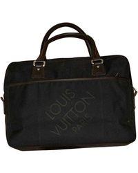 Louis Vuitton Sac en Toile Noir