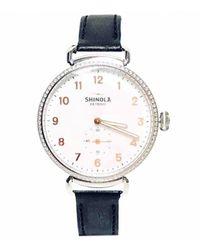Shinola Uhren - Mettallic