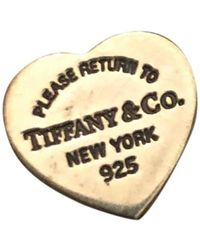 Tiffany & Co. Boucles d'oreilles Return to Tiffany en Argent Argenté - Métallisé