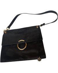 Karen Millen Leather Handbag - Black