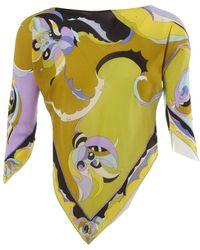 Emilio Pucci Camisa en seda multicolor