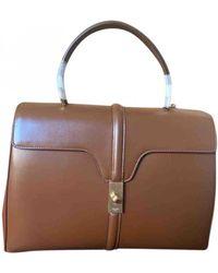 Celine Sac 16 Leder Handtaschen - Braun