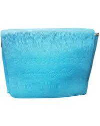 Burberry Leder Business Tasche - Blau