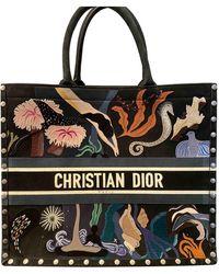 Dior Book Tote Shopper - Schwarz