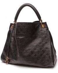 Louis Vuitton Artsy Leather Handbag - Black