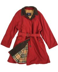 Burberry Red Polyester