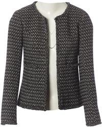 Chanel Chaqueta en lana negro