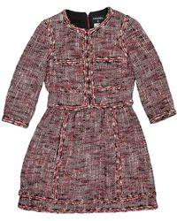 Chanel Tweed Mid-length Dress - Multicolor