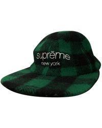 Supreme Wool Hat - Green