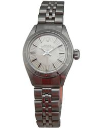 Rolex - Pre-owned Oyster Perpetual Watch - Lyst