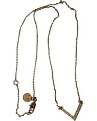 Michael Kors Gold Gold Plated Necklace - Multicolor