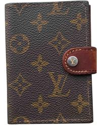 Louis Vuitton Petite maroquinerie en cuir - Marron