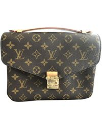 Louis Vuitton - Pre-owned Metis Cloth Crossbody Bag - Lyst