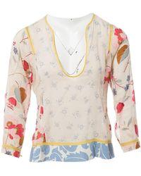 Marni - Multicolour Cotton Top - Lyst