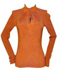 Tom Ford - \n Orange Silk Knitwear - Lyst