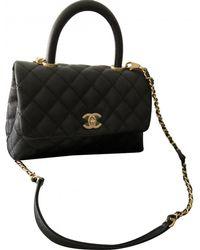 Chanel - Business Affinity Black Leather Handbag - Lyst