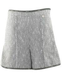 Chanel Green Cotton Shorts