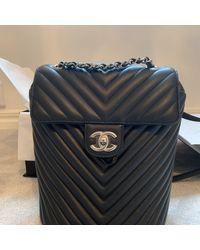 Chanel Zaino in pelle nero Timeless/Classique