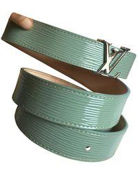 Louis Vuitton Lackleder Gürtel - Mehrfarbig