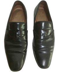 Christian Louboutin Leather Flats - Black