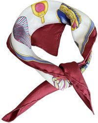 Hermès Seide Halstuch - Mehrfarbig