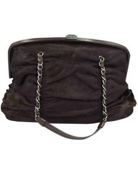 Chanel - Kalbsleder in pony-optik Handtaschen - Lyst