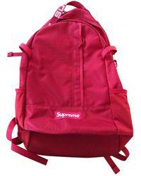 Supreme Cloth Weekend Bag - Red
