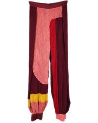 ROKSANDA Trousers - Red