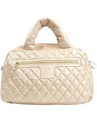 Chanel - Coco Cocoon Gold Leather Handbag - Lyst