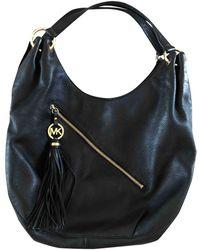 Michael Kors Leather Handbag - Black