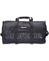 Supreme Black Polyester Bag