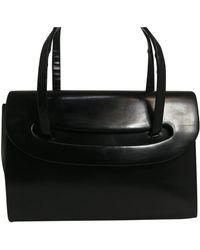 Dior Borsa a mano in pelle nero