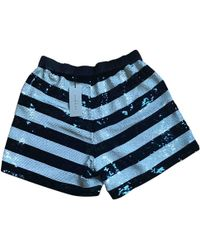 Sandro - Pre-owned Sequined Shorts - Lyst