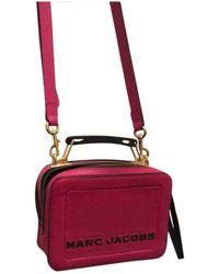 Marc Jacobs The Box Bag Leder Cross body tashe - Pink