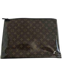 Louis Vuitton Lackleder Taschen - Braun