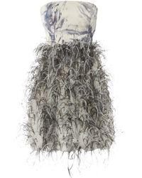 Oscar de la Renta Multicolour Polyester Dress