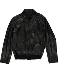 Hermès Black Leather Jacket