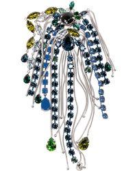 Sonia Rykiel - Blue Metal Pins & Brooches - Lyst