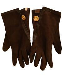 Loewe Leder Handschuhe - Braun