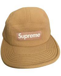 Supreme Sombrero. Gorros en lana beige - Neutro