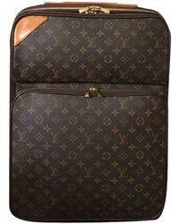 Louis Vuitton Pegase Leinen Reise tasche - Braun