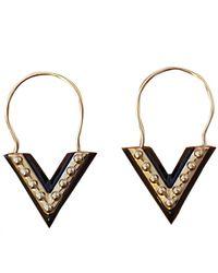 Louis Vuitton Essential V Earring - Metallic