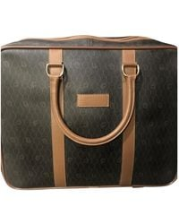 Dior Beige Cloth Travel Bag - Natural