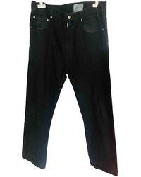 Comme des Garçons Gerade jeans - Schwarz